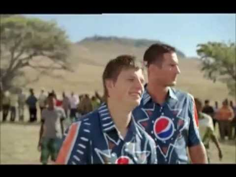 Pepsi commercial 2010 - Henry, Kaka, Messi, Drogba, Lampard, Arshavin