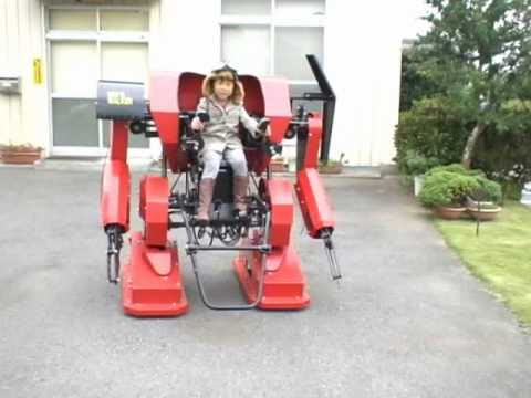 The Coolest Dad Ever Builds A Mech Suit For His