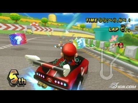 Vid otest mario kart wii youtube - Mario kart wii personnages et vehicules ...