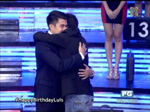 Edu surprises Luis on 'Deal or No Deal'