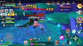 Luna Fantasy - Boss Region 50 Elf Refuge