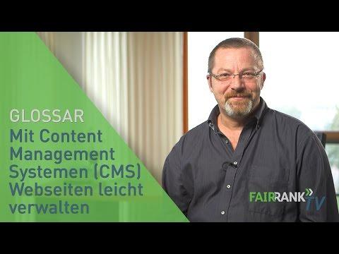 Mit Content Management Systemen (CMS) Webseiten leicht verwalten | FAIRRANK TV - Glossar