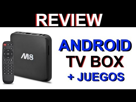 Android TV Box M8 - ¿Android en tu TV? Review & Game Test: GTA San Andreas + Asphalt 8  [HD]