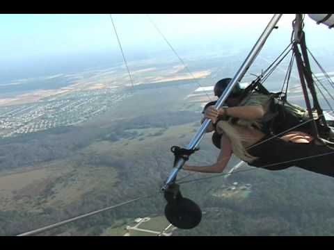 Gina Lynn Hang Gliding Video