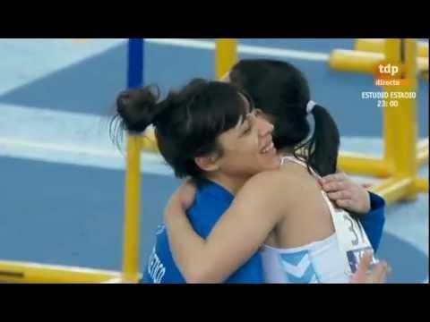 Triple salto femenino Campeonato de España 2013 en pista cubierta parte 1 de 2