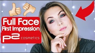 FULL FACE USING ONLY P2 Tutorial deutsch 💄🤓 | Schicki Micki