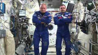 One-Year Crew Talks About Start of #YearInSpace