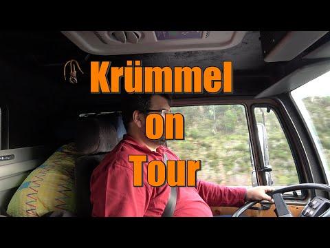 Krümmel on Tour , Portugal #2 mit dem Steyr 12m18 durch / Spanien/ Frankreich/ Italien/ Österreich