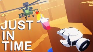 Destroying Helicopters and Dodging Bullets! - Just In Time Incorporated VR - HTC Vive Gameplay