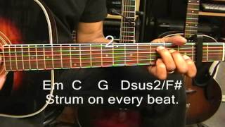 Tasha Cobbs Jesus Culture BREAK EVERY CHAIN Guitar Lesson How To Play Tutorial