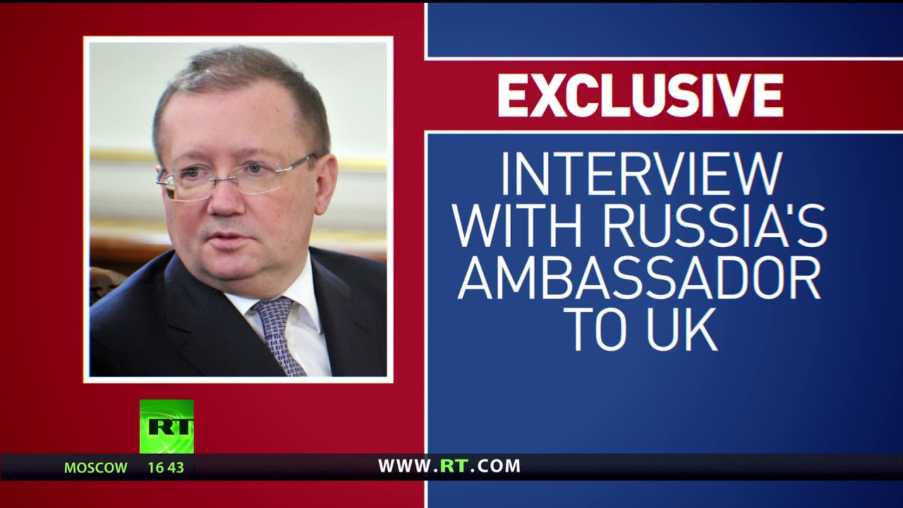 'Skripal case helps divert attention from Brexit' – Russian ambassador to UK Yakovenko (EXCLUSIVE)