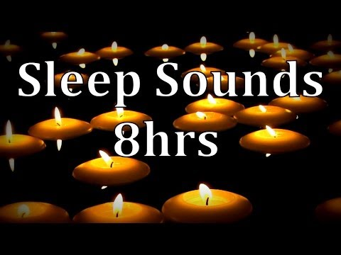 8hrs Rain Sounds with of Floating Candles