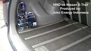 HHO Joko Energy on Nissan X Trail