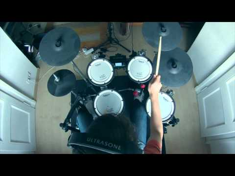 Muse - Hysteria [drum cover]