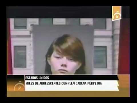 Estados Unidos: Menores de edad condenados a cadena perpetua