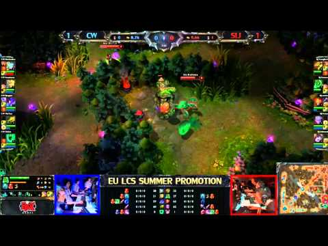 Copenhagen Wolves vs Samurai In Jeanse Game 3/4 LCS 2013 EU Summer Promotion Matches