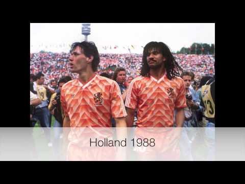 فيديو .. أعظم 15 قميص في تاريخ كرة القدم