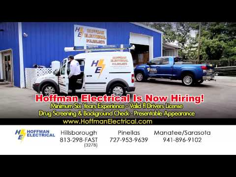Hoffman Electrical is NOW HIRING! (15 Second Cable...