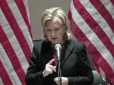 Hillary Clinton: 'Women's Progress Is Human Progress'