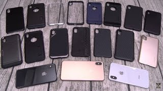 iPhone XS / XS Max Cases - Spigen, Pitaka and Simply Carbon Fiber