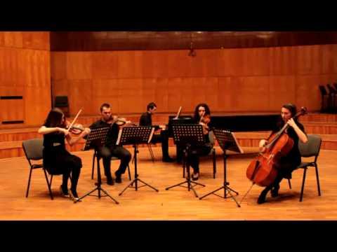 """Por Una Cabeza tango from """"Scent of a woman"""" by Carlos Gardel - Desiderio Quintet"""