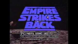The Empire Strikes Back 1981 re-release TV trailer