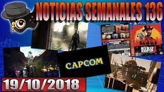NOTICIAS VIDEOJUEGUILES DE LA SEMANA 136: RDR2, EPIC, WAYLANDERS...