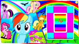 Minecraft MLP - How to Make a Portal to MY LITTLE PONY!
