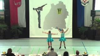 Emely Sack & Jana Feigl - Ländle Cup 2015