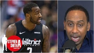 Stephen A. goes off on John Wall