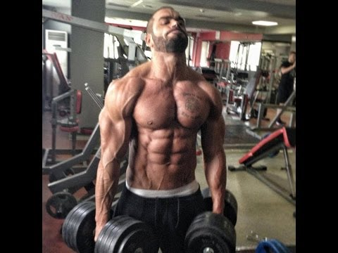 Lazar Angelov Unbelievable Sixpack and Arm Exercise