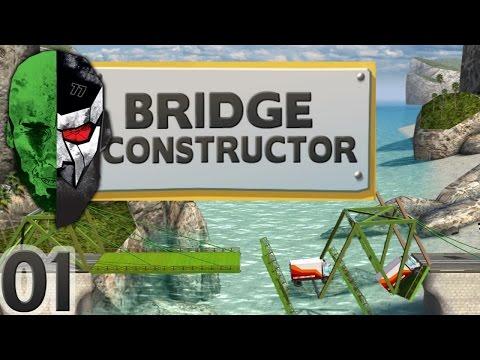 Bridge Constructor — A Bridge over troubled Water — E01   Docm77