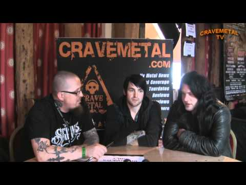 Sonisphere Festival 2011 interview with GLAMOUR OF THE KILL CraveMetal TV