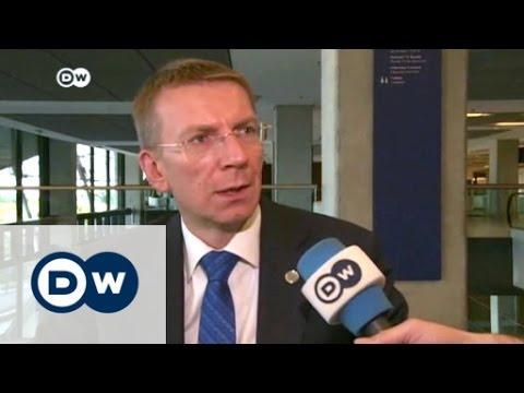 NATO summit: Interview with Edgars Rinkēvičs | DW News