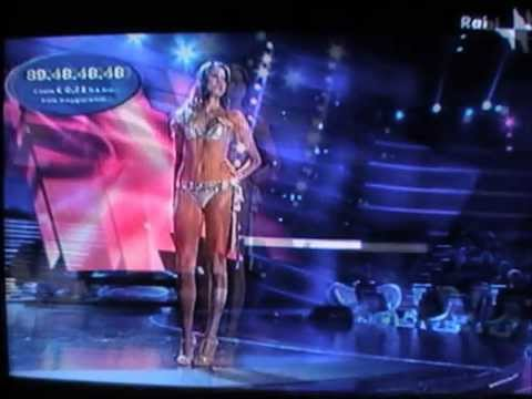 Aurora Felici,Miss Lazio Cotonella,Top 20 at Miss Italia 2009.Bikini Catwalks