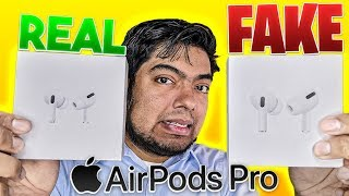 Airpods Pro (FAKE vs REAL) Imposible!!