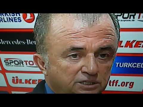 Türkiye kosova maçı sonrası fatih terim konusuyor