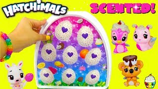 HATCHIMALS Exclusive SCENTED families Cupcake Kids Club