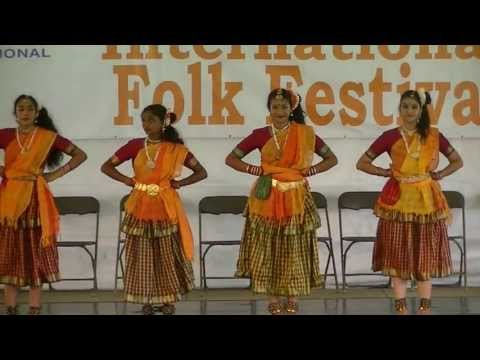 Southern India Gypsy folk dance