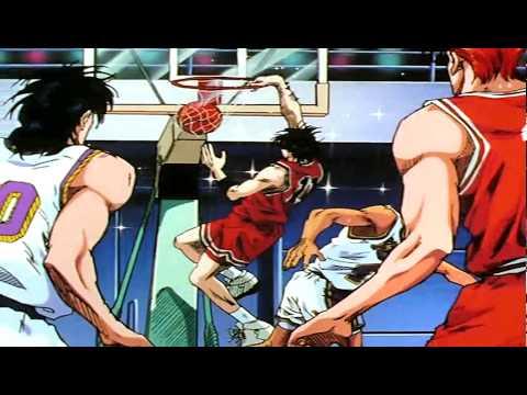 Kaede Rukawa Vs  Shinichi Maki HD