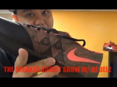 Nike KD VI Meteorology Weatherman 6 Shoe Review Plus On Feet W/ @DjDelz Dj Delz  HD