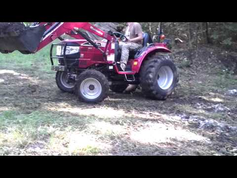 Working the Mahindra 3016