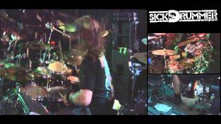 Origin - Saligia - John Longstreth Drum Cam - Filmed June 22, 2011