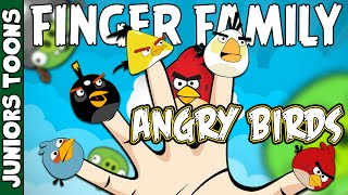 ANGRY BIRDS FINGER FAMILY SONG #ANGRYBIRDS #FINGERFAMILY | JUNIORS TOONS