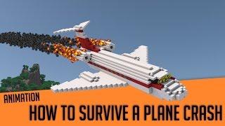 How To Survive a Plane Crash - Minecraft Animation