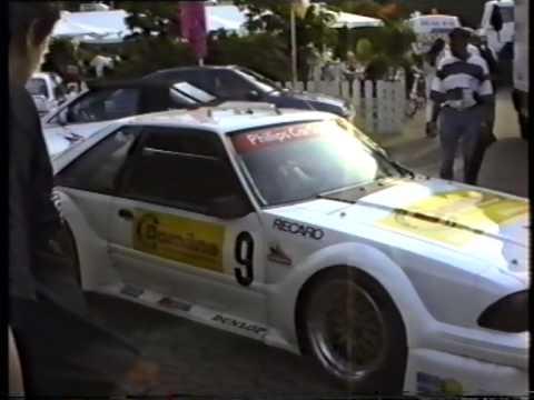 Mustang Gt 0 60 >> DTM 1993 Berlin Avus Fahrerlager/Paddock Ford Mustang GT Gerd Ruch - YouTube