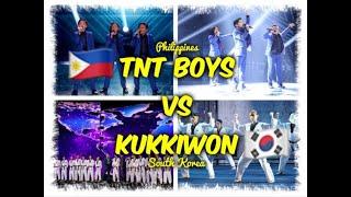 TNT BOYS AT KUKKIWON PINAHANGA ANG MGA JUDGES (99% SCORES)⎪THE WORLD'S BEST