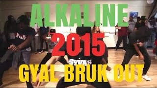 Alkaline 2015 | Gyal Bruk Out | @BizzyBoom | Traphall