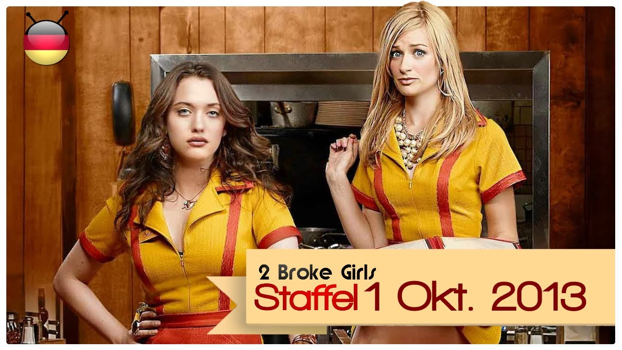 2 broke girls staffel 1