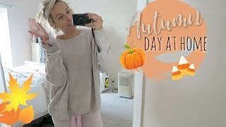 Autumn day at home New cosy clothes and cooking | Vlog Oct 9th 2018